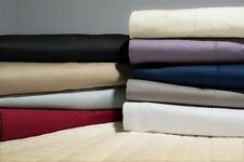 2 x Egyptian Cotton Collection 1000+ Standard Pillow Cases 9 Colours