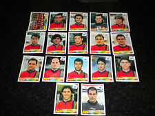 PANINI FRANCE WORLD CUP 1998 - SPAIN PLAYERS - PLEASE CHOOSE