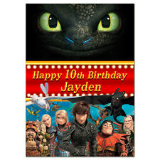 219 Personalised greeting card; How to Train Your Dragon 2; Best Special Great