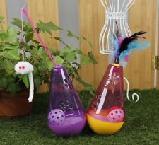 Cat Pet Toy Tumbler Toy For Cat  With Ring Bell in it New Toy For Cat Wholesale