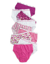 Hanes Girls No Ride Up Full Coverage Low Rise Briefs, 9-Pack. P913LR