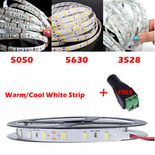 5M 5050 5630 3528 300 SMD LED Waterproof Flexible Light Strip in Warm Cool White