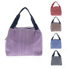 Lunch Storage Organizing Utility Tote Lunch Carry Tote Storage Bag 5 Colors