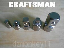 CRAFTSMAN 1/4 3/8 1/2 DR Adapter CHOOSE ANY SIZE Made In USA NEW FREE SHIPPING!!