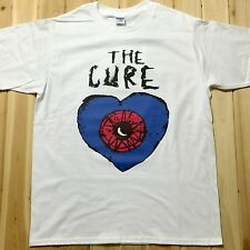 The Cure Rock Music Band Tee T-Shirts Unisex Mens Womens 100% Cotton TC002