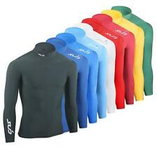 SUB SPORT FREDDO Uomo Compressione Top layer di base Thermal Mock Neck SKIN Tight