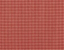 """72"""" French Country Gingham Check Crimson Red Fabric Shower Curtain Cotton"""