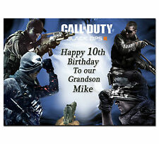 226 Call of duty ghosts Personalised greeting card best special great custom