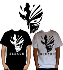 Bleach - Ichigo's Hollowfication Mask White/Black Anime T-Shirt S M L XL XXL