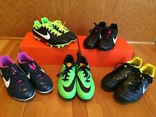 Nike Soccer cleats NWOB girls  and boys mult styles and sizes hypervenom tiempo