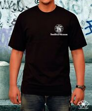 Smith and Wesson Firearms Logo T-Shirt Pro Gun Rights 2nd Amendment GUNS
