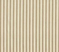 French Country Ticking Stripe Linen Beige Medium Tootsie Roll Pillow