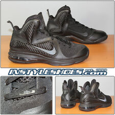 Nike Lebron 9 Blackout Black Anthracite Air Max 469764-001