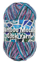 Mary Maxim Bamboo Mosaic Sock Yarn