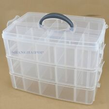 Storage Organizer Box Tool Jewellery Bead Underwear Craft Makeup Cosmetic Case