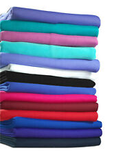 Neotrims Polyester Stretch Knit Rib Jersey Fabric Trim Garments Waistbands Cuffs