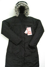 THE NORTH FACE Womens Arctic Parka Jacket Black XL Hyvent Down Puffer ANHD NEW