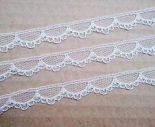 10 Yards white/Black Color Trimmings decoration Embroidered Net Lace Trim Ribbon
