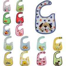 Several choices of cute animal cartoon kids  Baby Bib Lunch Bibs Saliva Towel