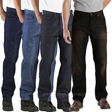 DICKIES Jeans Regular Straight Fit 5-Pocket DD110 100% Cotton Denim Work Pants