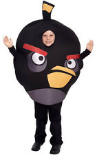 LICENSED CHILD BOYS GIRLS BLACK ANGRY BIRD FANCY DRESS HALLOWEEN COSTUME
