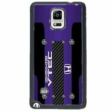 JDM Honda DOHC Vtec Engine Purple Gloss Fitted Case for GalaxyS3 S4 S5 Note4 3 2