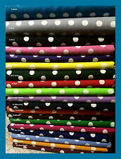 New Polka dot print Cotton Fabric by the Yard Little Dots lots of Colors U PICK
