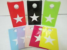 18x STAR Lolly Candy BAGS box  Party Favours Loot Lolly Party Bag - Candy Buffet