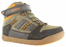Hi-Tec Kid's Waterproof Walking Boots - Boys Casual Hi Top Sneakers