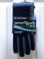 ISOTONER A744M1 SmarTouch 2.0, MENS Touchscreen Compatible GLOVES,M,LG,XL