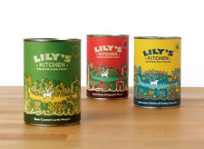 Lily's Kitchen 100% Natural Dog Food Tins (6 Pack) *ALL FLAVOURS**