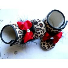 bling baby girls ugg boots for gift shoes bows and feather comes in tulle  bag