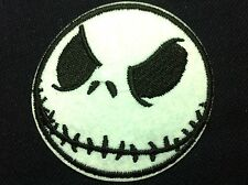 Nightmare Before Christmas Jack (6 x 6 cm) Embroidered Iron on Patch Applique(P)
