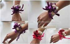 Wrist Flowers Corsage Corsages Silk Flowers Mothers Wedding Prom Bridal