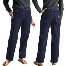 Dickies Jeans Womens Stretch 5 pockets Denim Work Pant Relaxed Fit  FD110 Indigo