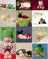 Baby handmade knitted Costume photo Photography Prop muti-style free shipping