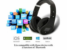 Wireless Stereo Bluetooth Headset Headphone for Cellphone PC Laptop Tablets
