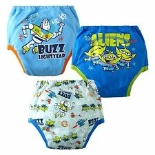 Boys & Girls cotton pack of 3  leak protection potty training pants,1 to 4 years