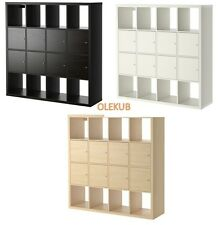 IKEA KALLAX Shelving Unit Bookcase with 8 Inserts ***DIFFERENT COLORS***