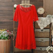 Hot New Fashion Women's Summer Lace Dress Party Evening Club Formal Dress S M L