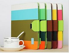 Magnetic PU HYBRID STAND WALLET FLIP LEATHER CASE COVER FOR IPAD Mini 2nd Gen