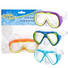 Splash-N-Swim Child-Sized Swim Masks - (4 Colors To Choose From)