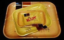 Raw Trays, Wooden Box, Shredder(Fits 1-1/4) and Cone Filler(For King Size Cones)
