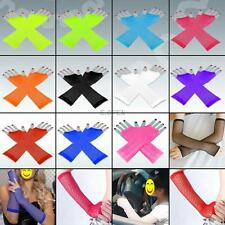 Sexy Goth Punk Fingerless Gloves Multi-color Mesh Arm Mittens Gloves Glovettes