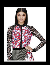 Peter Pilotto for Target Button Down Shirt Floral Top w/ Lace Sleeves new XS-XL