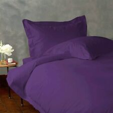 LIMITED STOCK PURPLE SOLID 1 PC FITTED SHEET 1000 TC EGYPTIAN COTTON ALL SIZE