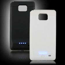 2200mAh External Backup Battery Charger Case For SAMSUNG GALAXY S II S2 S i9100
