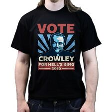 Vote Crowely For King Supernatural Season 8 9 dvd T-shirt P715