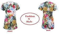 Ladies Womens Tropical Floral Butterfly Print Collar Playsuit Shorts