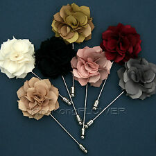 """KingKong FLOWER"" SAFETY Lapel Pin BOUTONNIERE Button Wedding Party /EG"